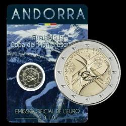 Andorra 2019 2 Euro Finale della Coppa del  Mondo di Sci Alpino 2019