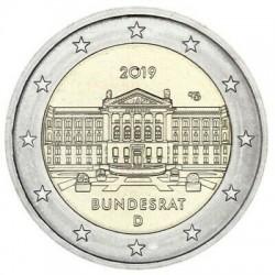 Germania J 2019 - 2€ 70º Anniversario del Bundesrat - ZECCA J