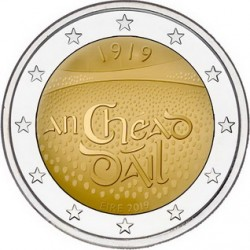 Irlanda 2019 - 2€ 100º Anniversario della Prima Riunione del Dáil Éireann