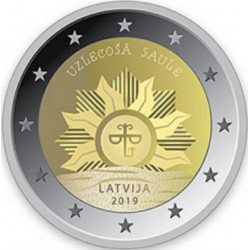 Lettonia 2019 - 2€ Stemma della Lettonia