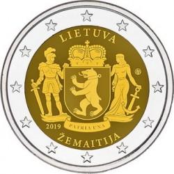 Lituania 2019 - 2€ Samogizia (serie Regioni della Lituania)