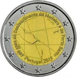 Portogallo 2019 - 2€ 600º Anniversario della Scoperta dell'Isola di Madeira e di Porto Santo