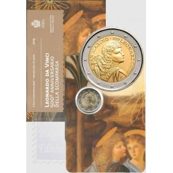 San Marino 2019 - 2€ 500º Anniversario della morte di Leonardo da Vinci