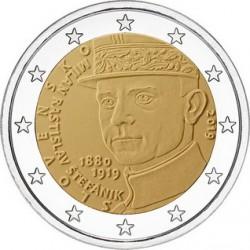 Slovacchia 2019 - 2€ 100º anniversario della morte di Milan Rastislav Štefánik