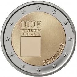 Slovenia 2019 - 2€ 100º anniversario della fondazione dell'Università di Lubiana
