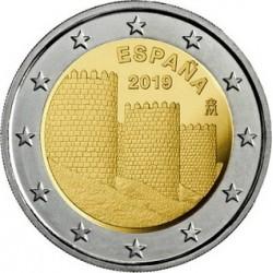 Spagna 2019 - 2€ Muraglia di Ávila