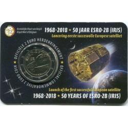 Il 2 euro commemorativo è contenuto nella Coincard Ufficiale da Zecca  Moneta Fior di Conio - Lato Olandese