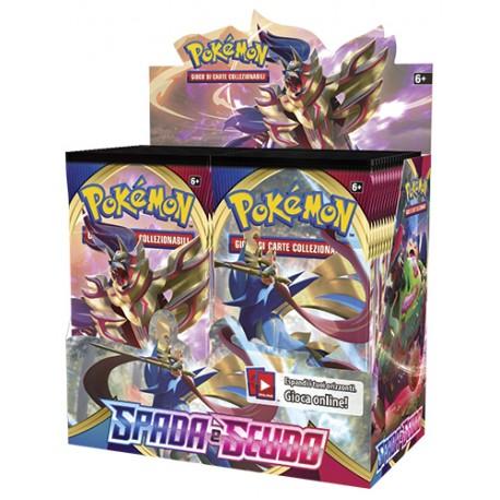 Pokemon Spada e Scudo box 36 buste IT