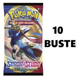 Pokemon Spada e Scudo 18 buste IT