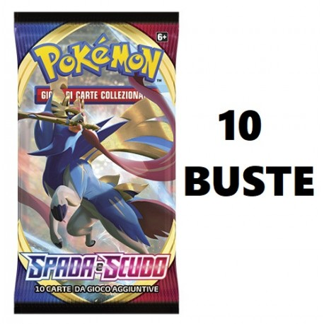 Pokemon Spada e Scudo 18 buste IT