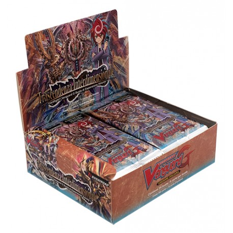Cardfight!! Vanguard Set G01: Trascendenza Interdimensionale box 24 buste