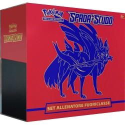 Pokemon Set Allenatore Fuoriclasse Spada e Scudo ZACIAN IT