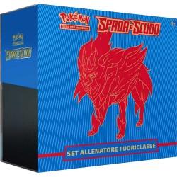 Pokemon Set Allenatore Fuoriclasse Spada e Scudo ZAMAZENTA IT