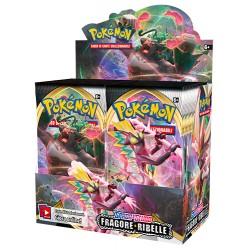 Pokemon Spada e Scudo Fragore Ribelle box 36 buste in italiano