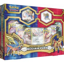 Pokemon Collezione Premium Acciaio Puro Zacian Italiano