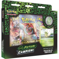 Pokemon Spada e Scudo 3.5 Futuri Campioni Collezione con Spilla Palestra di Turfield (IT)