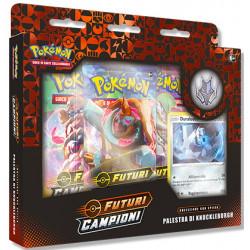 Pokemon Spada e Scudo 3.5 Futuri Campioni Collezione con Spilla Palestra di Knuckleburgh (IT)