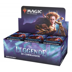 WOTC Magic Commander Legends Draft booster box 24 buste (EN)