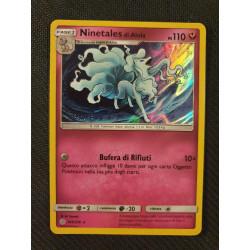 Pokemon Ninetale di Alola Eclissi Cosmica 145/236
