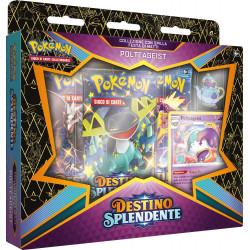 Pokemon Spada e Scudo 4.5 Destino Splendente Festa di Matti Pin Collection Polteageist (IT)