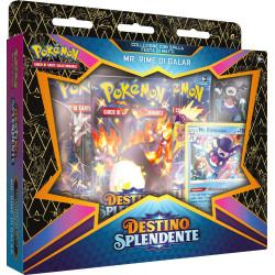 Pokemon Spada e Scudo 4.5 Destino Splendente Festa di Matti Pin Collection DEDENNE (IT)
