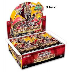 Yu-Gi-Oh! Vortice Fiammeggiante 1a edizione 3 box 24 buste (IT)