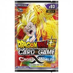 Dragon Ball Super Cross Worlds Force Set 03 busta (IT)