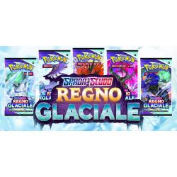 Pokemon Regno Glaciale 5 buste Artwork diversi set completo (IT)