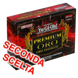 YU-GI-OH! Premium Oro 3 - Oro Infinito 1° edizione confezione singola seconda scelta