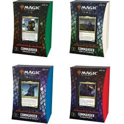 Magic Commander Adventure in the Forgotten Case 4 mazzi (EN)