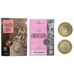 5 Euro Centenario della  nascita di Fausto Coppi - Italia