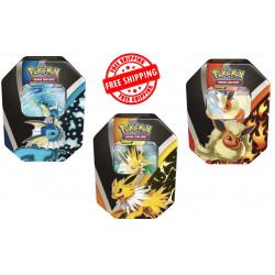Pokemon Evoluzioni di Eevee Tin Set completo IT)