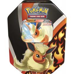 Pokemon FLAREON-V Evoluzioni di Eevee Tin da Collezione IT)
