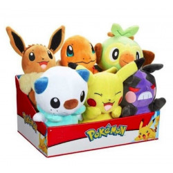Pokemon Peluche - PLUSH asst wave 9 set 6 pezzi