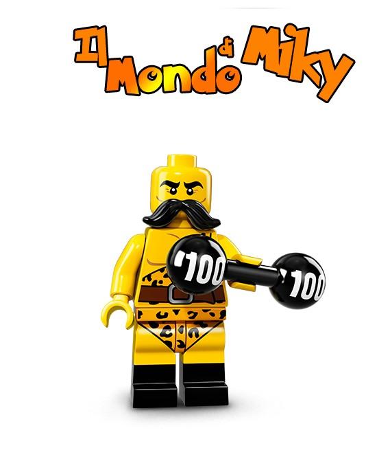 71018 LEGO minifigure serie 17 FORZUTO DEL CIRCO