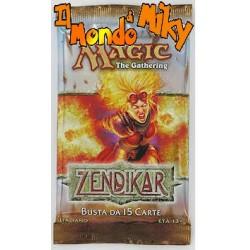 Magic Zendikar busta 15 carte