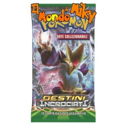XY Destini Incrociati busta 10 carte